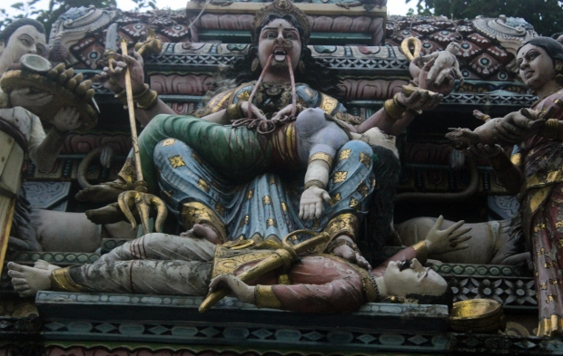Kali, the iconic female goddess of Hinduism.