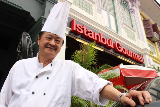 Henry Teo, owner and operator of Istanbul Gourmet at 314 Joo Chiat Road in Singapore's Katong district is quick to please his customers with a delectable menu of foods from across the world.