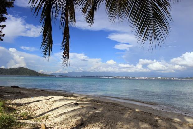 The pristine beaches of Manukan Island off the coast of Kota Kinabalu, Malaysia.
