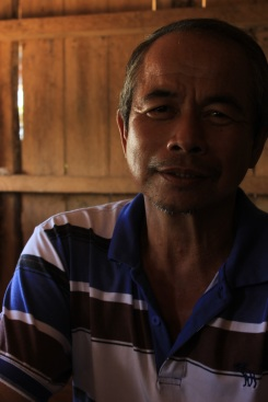 """When Jason Bin Aling, Rodiah's brother, moved to Balud Batu in 1986, he said """"life was much different."""" A father of three, the new water source will improve the quality of life for future generations of the village."""
