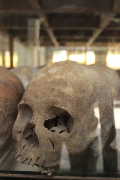A forgotten face of the Khmer Rouge genocide in Cambodia.