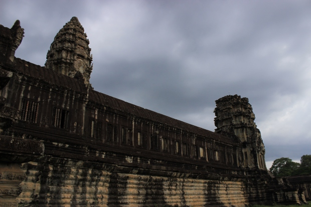 The impressive remnants of the Khmer Empire.