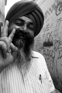 """Peace."" -Bangkok fortune teller, Thailand"
