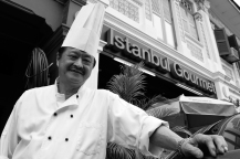 """""""I used to be a playboy."""" -Henry Teo, chef & ice sculptor in Singapore"""