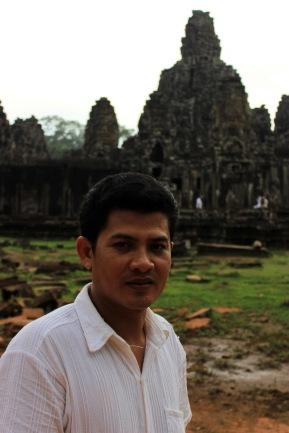 My Cambodian guide Veasna Buth.