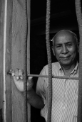 """""""It was very bad. I had nothing to eat because the Khmer Rouge provide food to me only twice a day but not enough. Only a little bit; some grains or rice. Only two meals per day."""" -Chum Mey in Phnom Penh."""