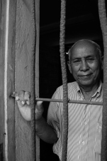 """It was very bad. I had nothing to eat because the Khmer Rouge provide food to me only twice a day but not enough. Only a little bit; some grains or rice. Only two meals per day."" -Chum Mey in Phnom Penh."