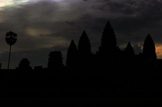 Eerie silhouette.