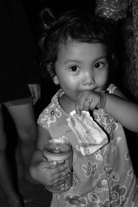 This is another girl who was obsessed with my camera at the Cambodian wedding I attended.